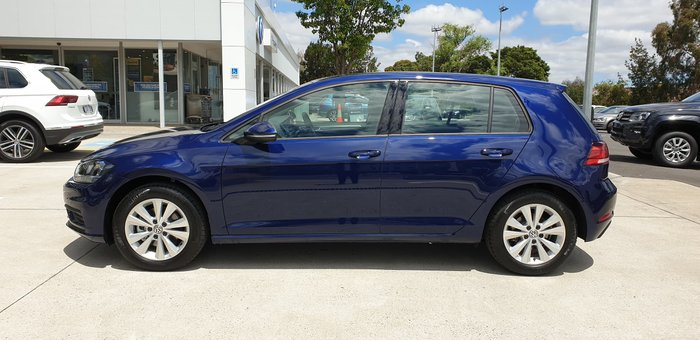 2019 Volkswagen Golf 110TSI Trendline 7.5 MY20 Blue
