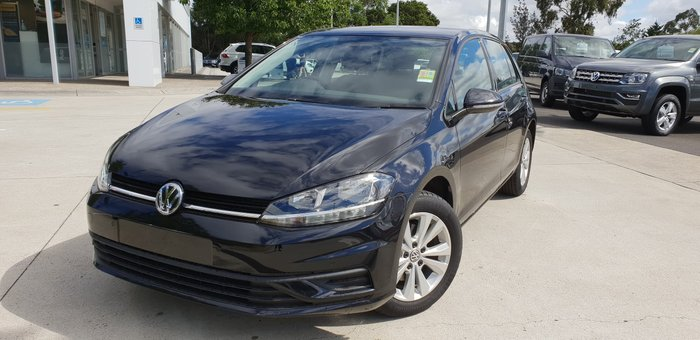 2019 Volkswagen Golf 110TSI Trendline 7.5 MY20 Black