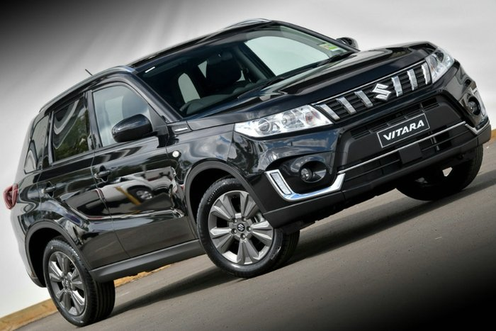 2019 Suzuki Vitara LY Series II BLACK/BLUE