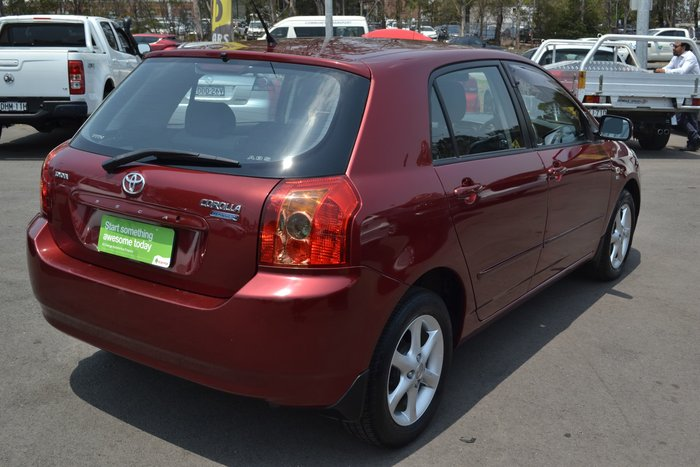 2006 Toyota Corolla Conquest ZZE122R Red