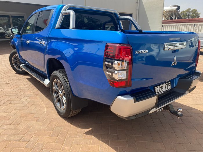 2018 Mitsubishi Triton GLS Double Cab Pick Up 4WD MQ Impulse Blue