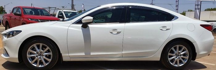 2013 Mazda 6 SED GJ White