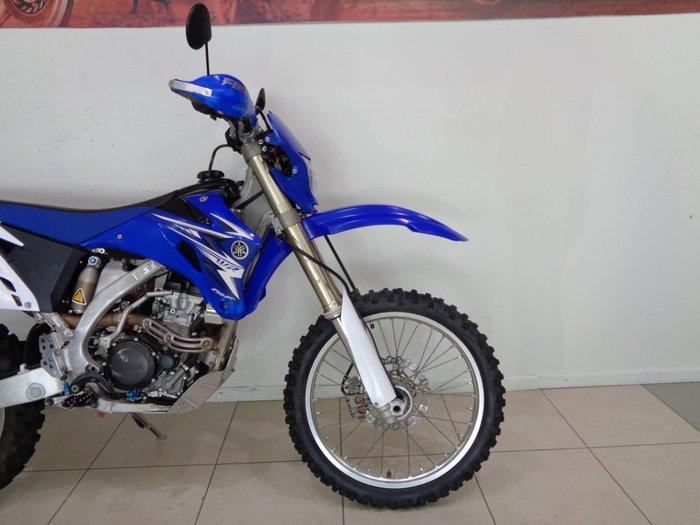 2007 YAMAHA WR250F Blue