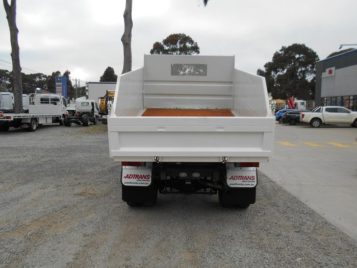 2010 FUSO CANTER ##FACTORY TIPPER 6500 GVM## null null WHITE
