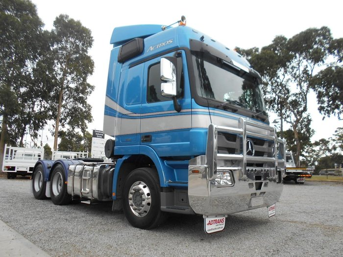 2012 MERCEDES-BENZ 2660 ACTROS null null BLUE
