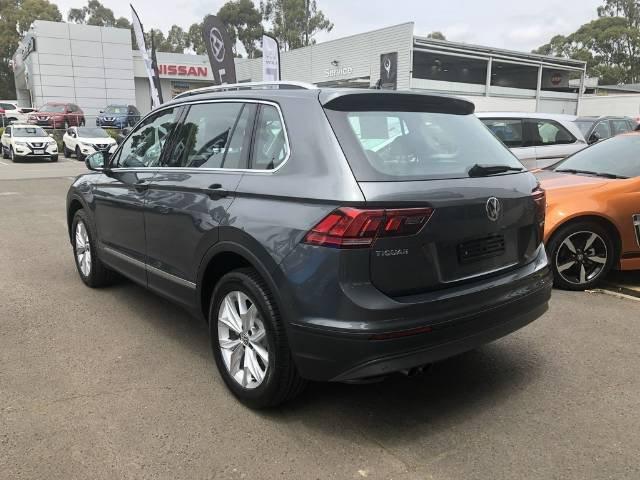 2018 Volkswagen Tiguan 132TSI Comfortline 5N MY19 Four Wheel Drive INDIUM GREY