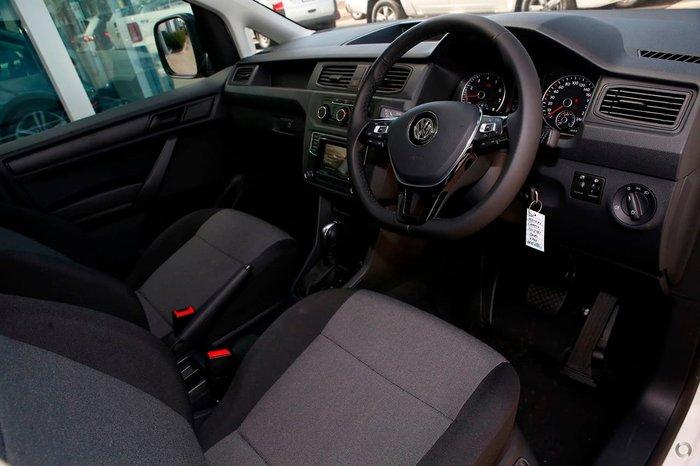 2019 Volkswagen Caddy TSI220 2KN MY20 White