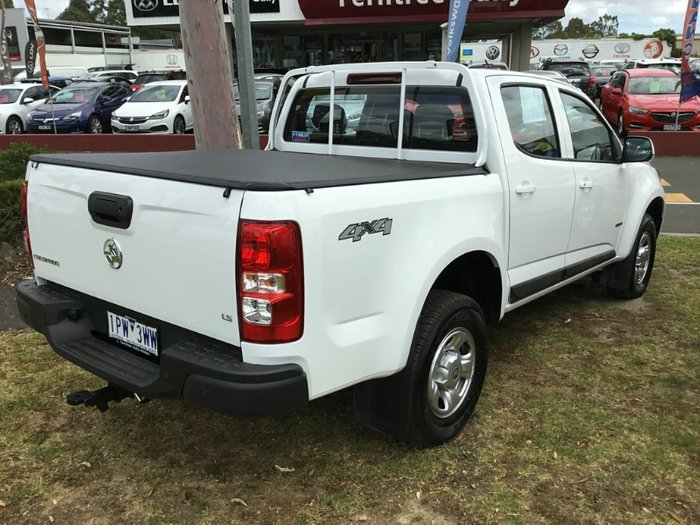 2019 Holden Colorado LS RG MY19 4X4 Dual Range SUMMIT WHITE