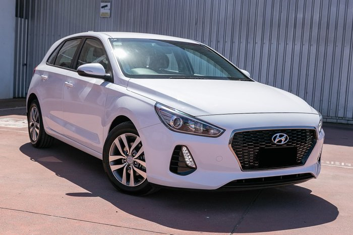 2017 Hyundai i30 Active PD MY18 White