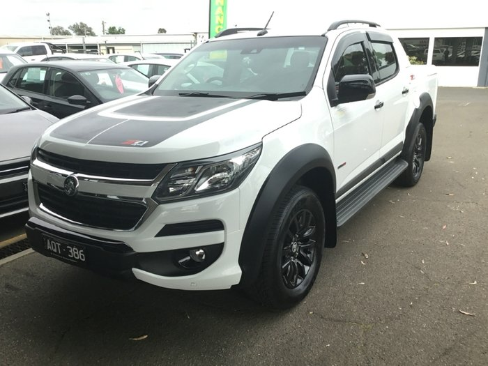 2017 HOLDEN DC COLORADO Z71 DUAL CAB RG MY18 SUMMIT WHITE