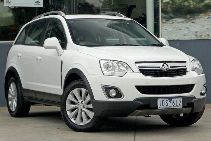 2013 Holden Captiva 5 LT CG MY13 White