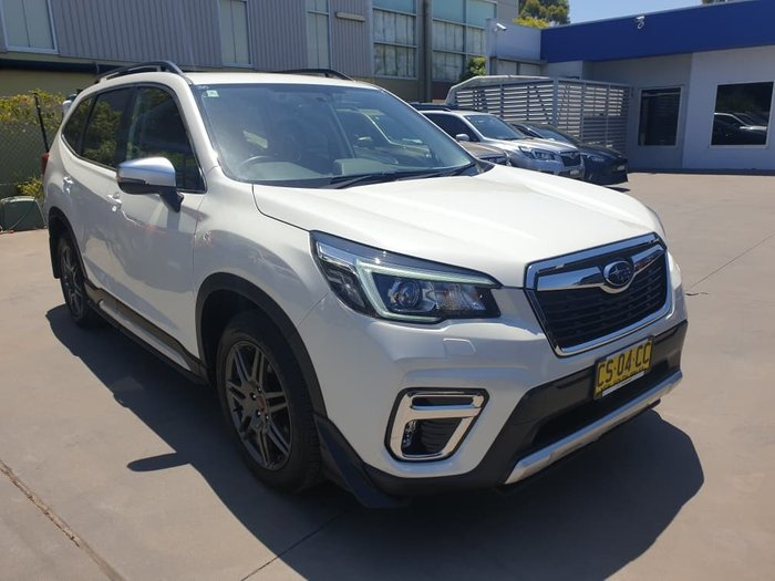2018 Subaru Forester 2.5i-S S5 MY19 Four Wheel Drive White