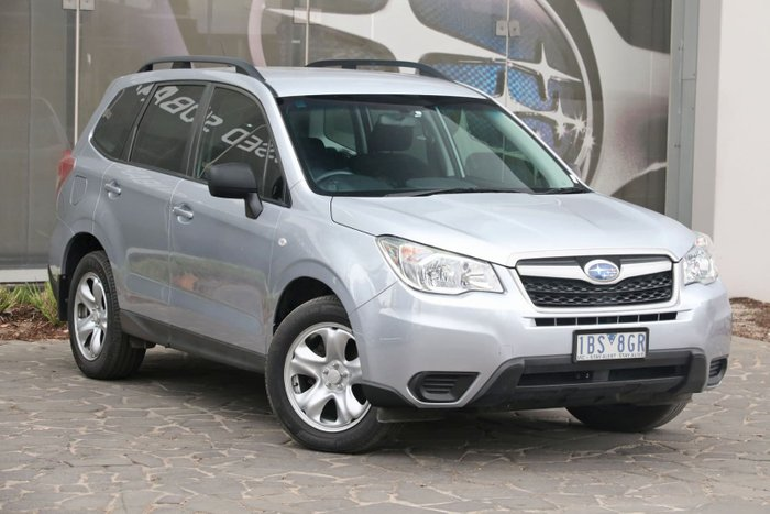 2014 Subaru Forester 2.5i S4 MY14 Four Wheel Drive Silver