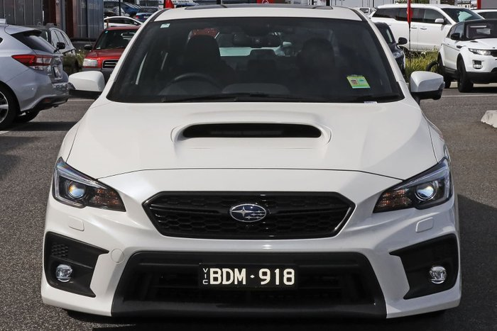 2019 Subaru WRX Premium V1 MY20 Four Wheel Drive White