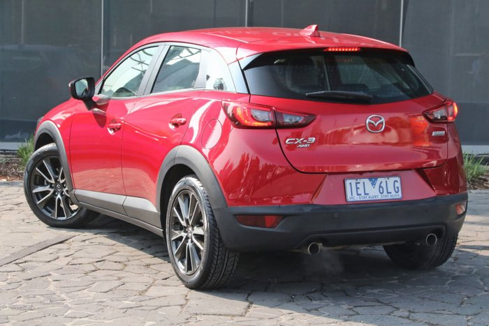 2015 Mazda CX-3 sTouring DK 4X4 On Demand Red