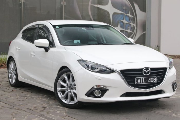 2014 Mazda 3 SP25 GT BM Series White