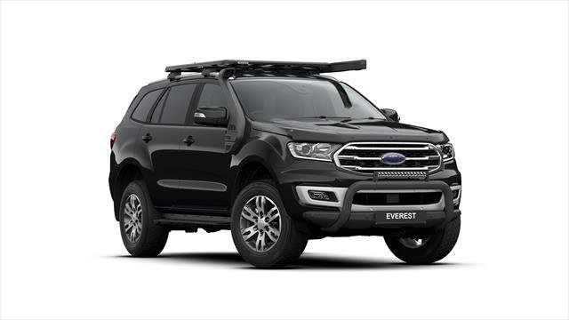 2019 FORD EVEREST EVEREST 2019.75 SUV TREND . 2.0L BIT 10A SHADOW BLACK