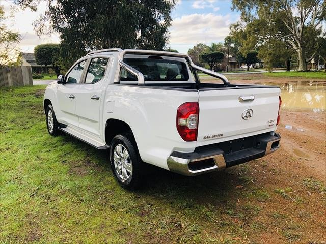 2019 LDV T60 LUXE T60 Double Cab Luxe AT Blanc White