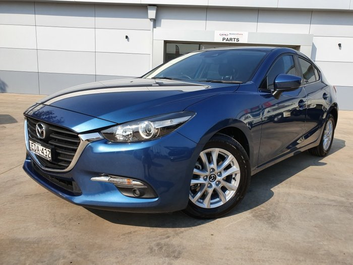 2016 Mazda 3 Maxx BM Series Eternal Blue