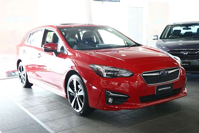 2019 Subaru Impreza 2.0i-S G5 MY19 Four Wheel Drive Red