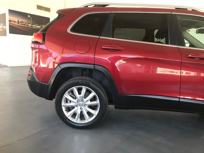 2014 Jeep Cherokee Limited KL MY15 4X4 Dual Range Red