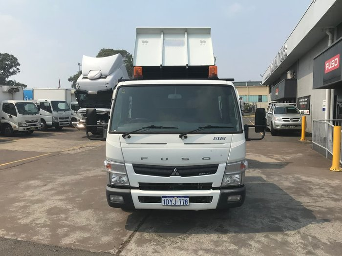 2012 MITSUBISHI DUAL CAB CANTER null null WHITE