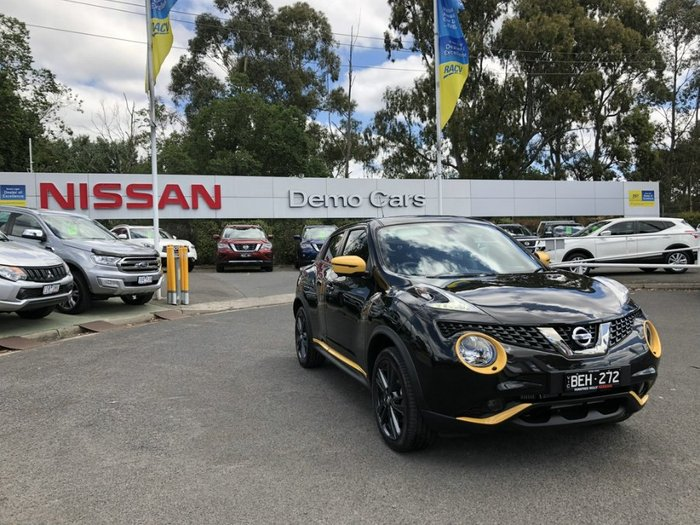 2018 Nissan JUKE Ti-S F15 MY18 4X4 On Demand PEARL BLACK