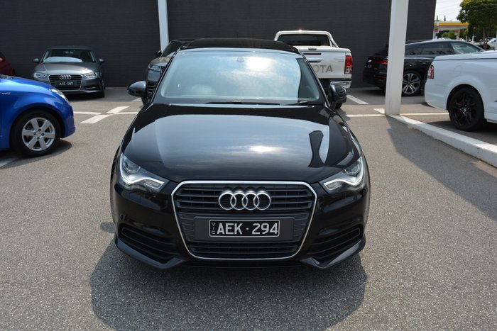 2014 Audi A1 Attraction 8X MY14 Black