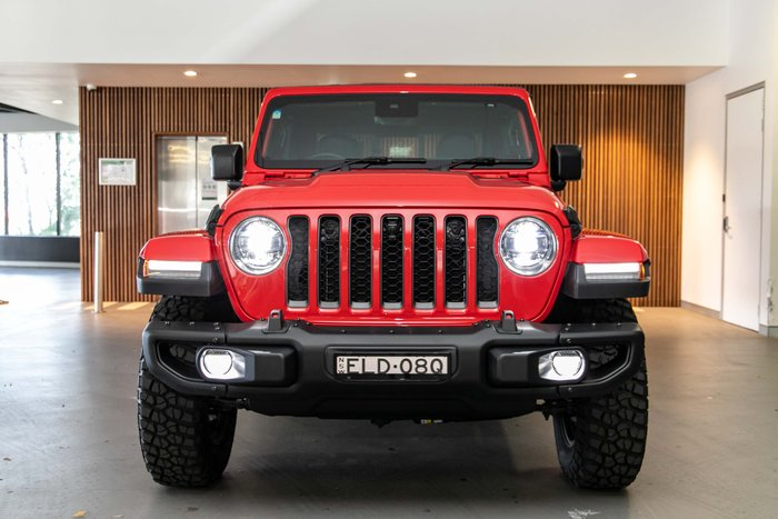 2020 Jeep Gladiator Rubicon JT MY20 4X4 On Demand Firecracker Red
