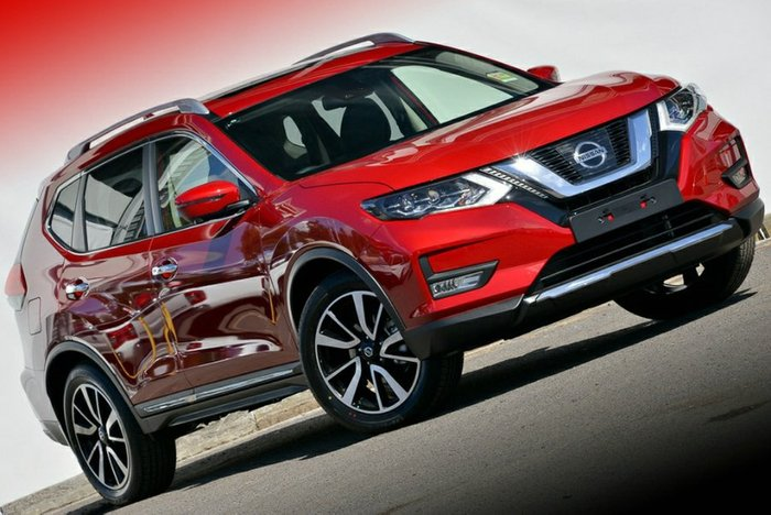 2018 Nissan X-TRAIL TL T32 Series II 4X4 On Demand RUBY RED