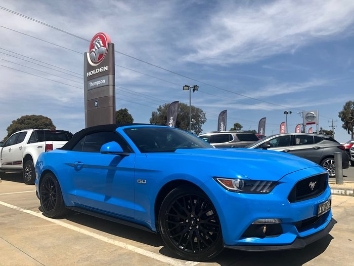 2017 Ford Mustang GT FM MY17 Blue