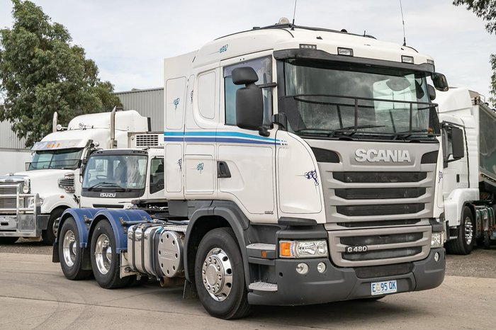 2015 SCANIA G480 PRIME MOVER null null WHITE