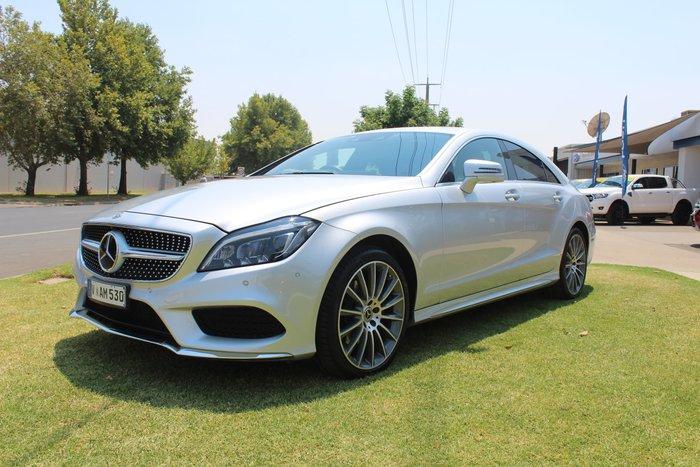 2017 Mercedes-Benz CLS-Class CLS250 d C218 Silver