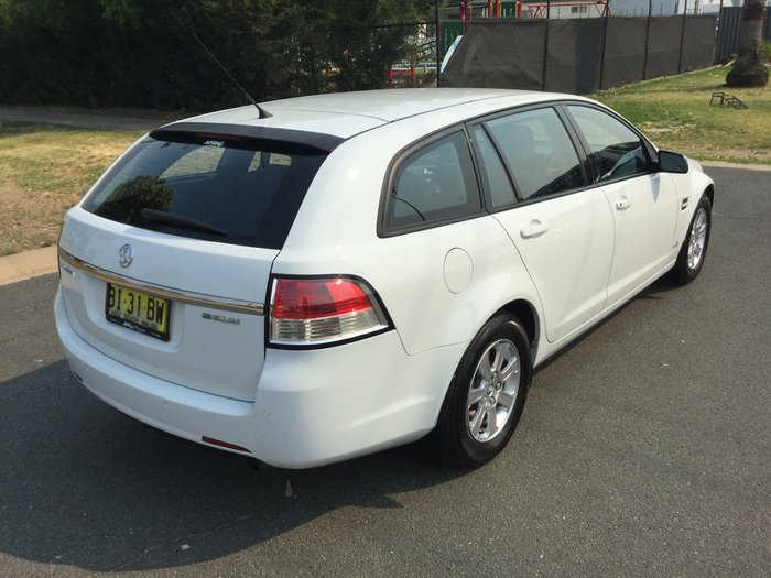 2011 Holden Commodore Omega VE Series II White