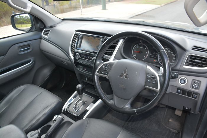 2016 Mitsubishi Triton Exceed MQ MY16 4X4 Dual Range Grey