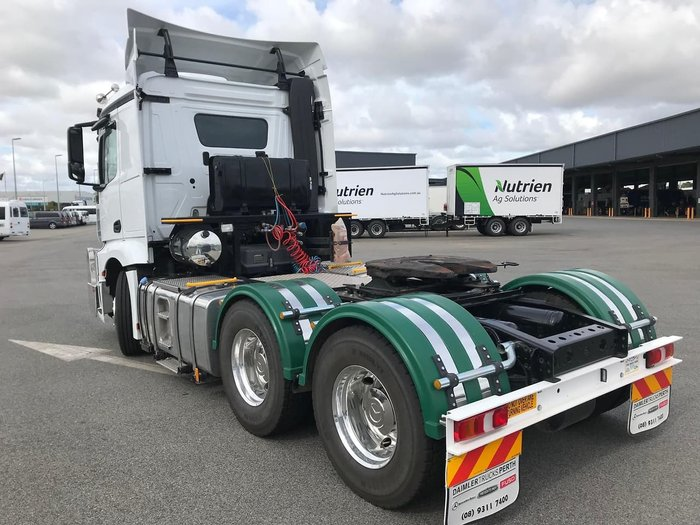 2019 MERCEDES-BENZ ACTROS 2653LS null null null
