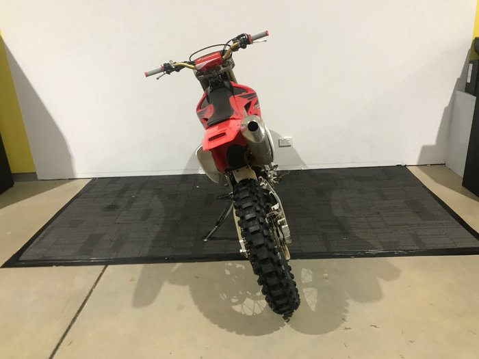 2007 Honda CRF450X Red