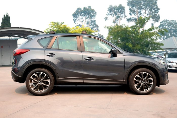 2015 Mazda CX-5 Grand Touring KE Series 2 4X4 On Demand Grey