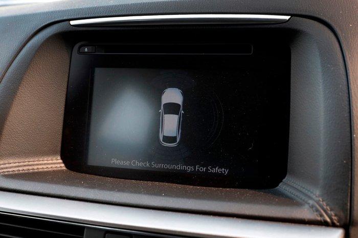2015 Mazda CX-5 Grand Touring KE Series 2 4X4 On Demand Grey