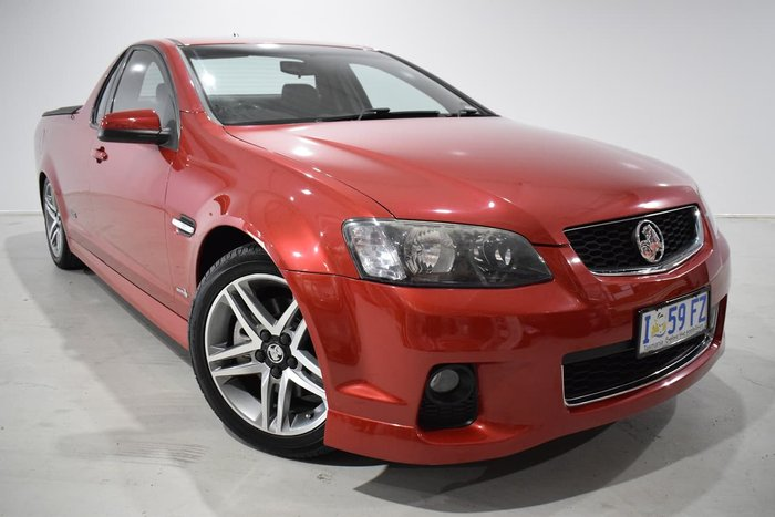 2011 Holden Ute SS VE Series II MY12 Red