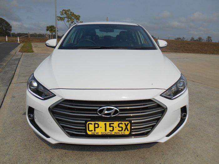 2018 Hyundai Elantra Elite AD MY18 White