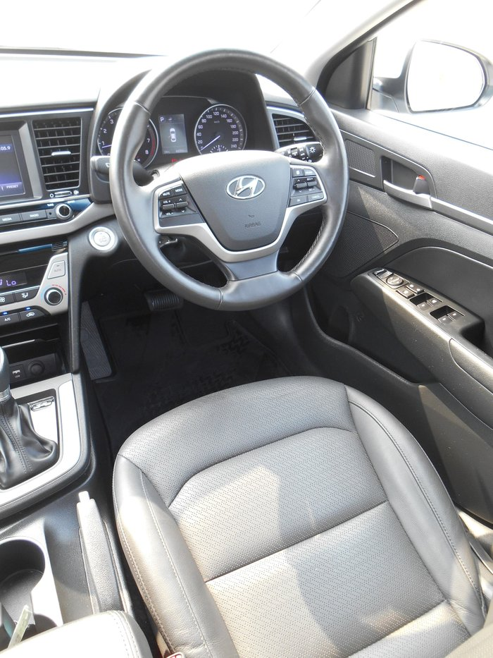 2018 Hyundai Elantra Elite AD MY18 White