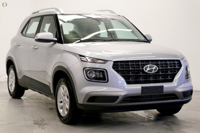 2019 Hyundai Venue Active QX MY20 Silver