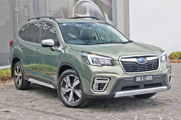 2019 Subaru Forester 2.5i-S S5 MY20 Four Wheel Drive Green