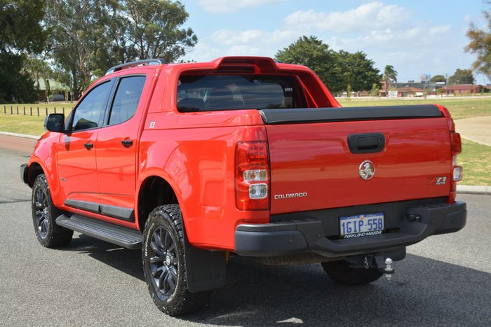 2017 Holden Colorado Z71 RG MY18 4X4 Dual Range Red