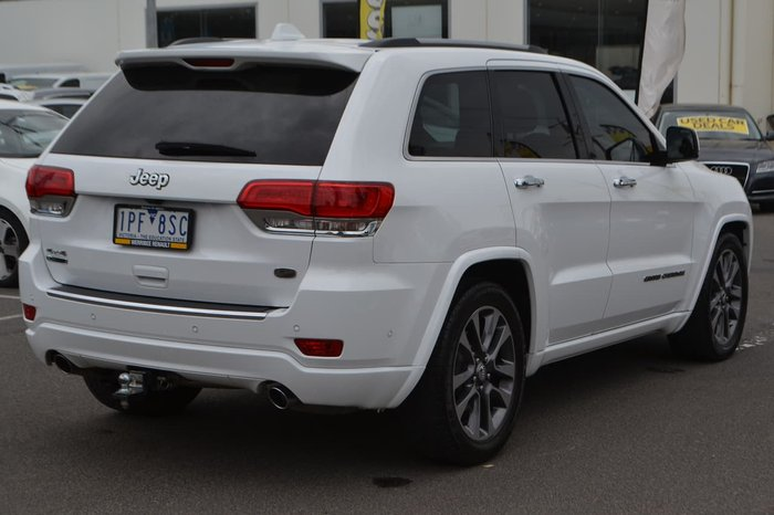 2017 JEEP GRAND CHEROKEE Overland WK White