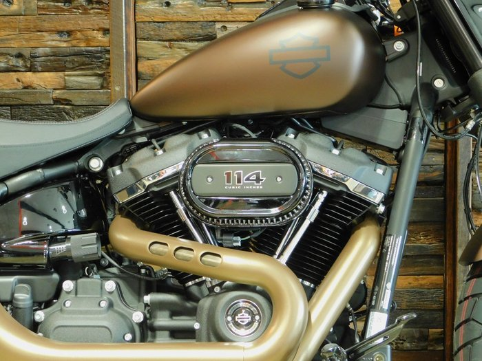 2019 Harley-Davidson FXFBS FAT BOB S (114) (SOLID) Rawhide Denim