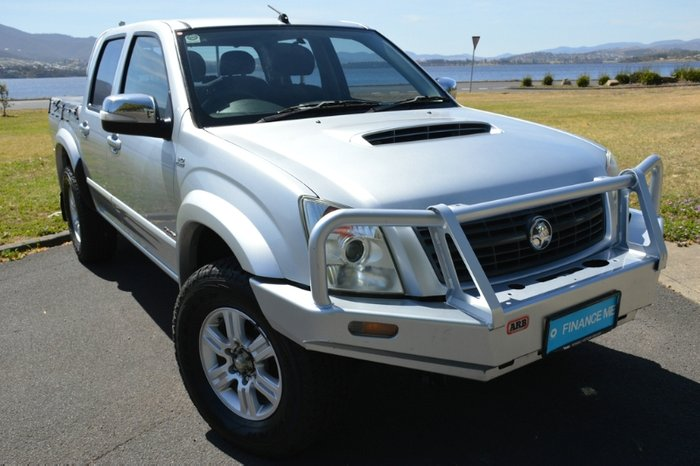 2008 Holden Rodeo LT RA MY08 4X4 SILVER