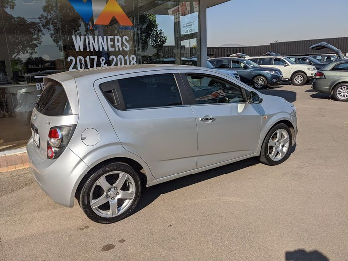 2014 Holden Barina CDX TM MY14 Grey