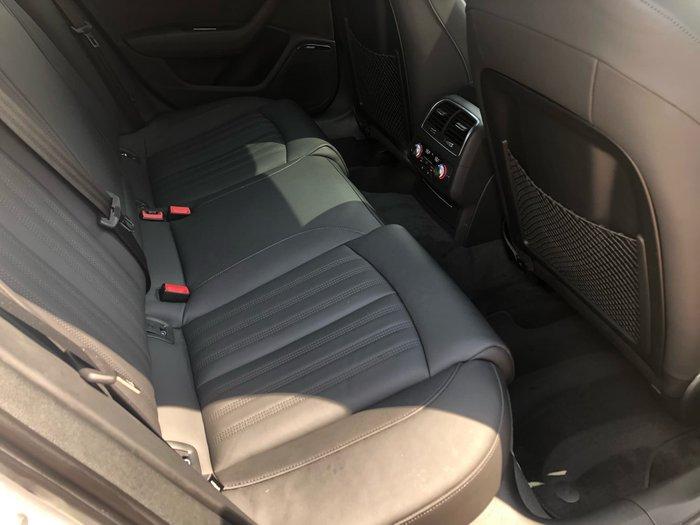 2017 Audi A6 C7 MY18 Four Wheel Drive White